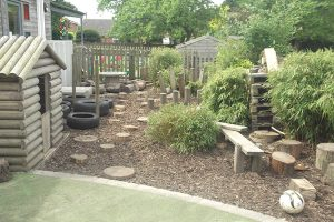 Robins Childcare Toddling Tigers Garden